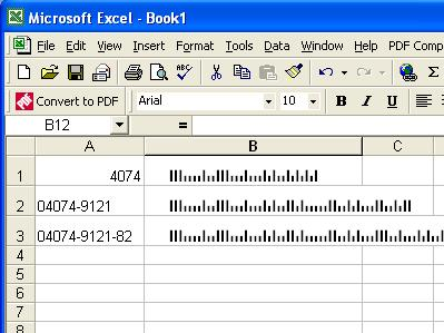 Free download idautomation barcode generator crack for Barcode font for excel